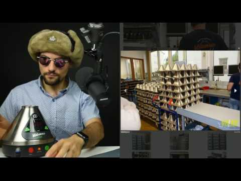 Volcano Vape Office Tour – WHY WAS THE PHONE WET?