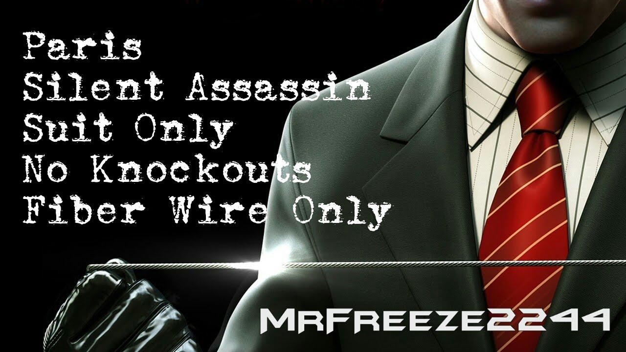 Hitman Paris Silent Assassin Suit Only No Kos Fiber Wire Only