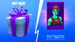 GIFT UPDATE DATUM! - Fortnite Battle Royale