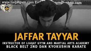 Jaffar Tayyar Introduction about liaqat gym and martial arts academy
