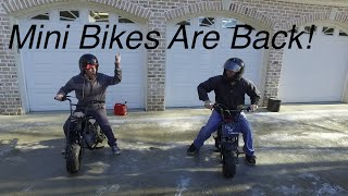 Minibike Takeover! Buildup & Ice Burnouts