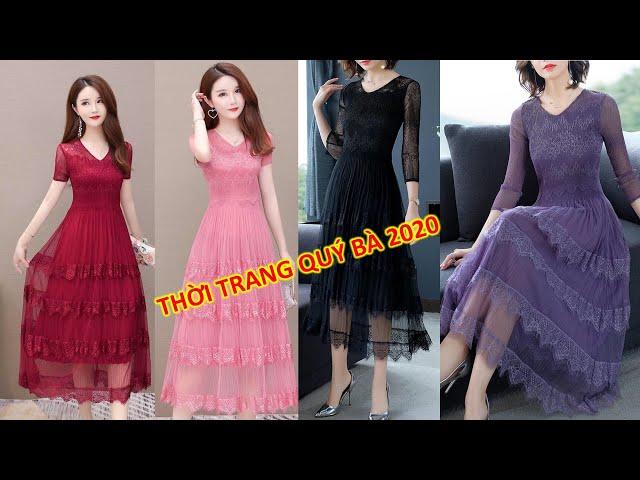 [Thời Trang Nữ Hoàng] Đầm Trung Niên,Thời Trang Trung Niên U30, U40,U50 Sang Trọng, Cao cấp mặc Tết tphcm, Hà Nội