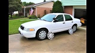 Fixing up my Ex Cop Car - OEM Hubcaps - 2008 Ford Crown Victoria