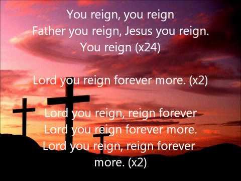 Vashawn Mitchell- You Reign (Lyrics)