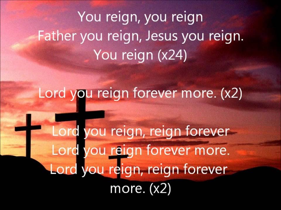 Vashawn Mitchell- You Reign (Lyrics) - YouTube