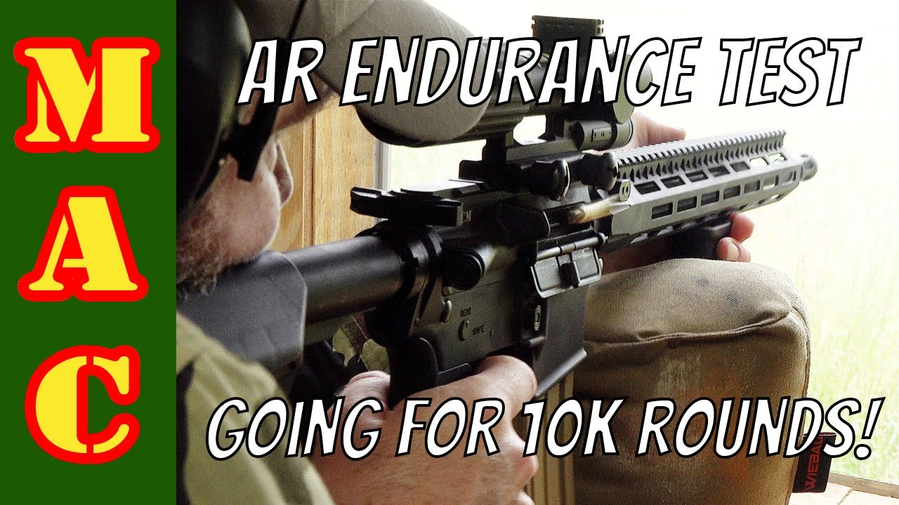 AR15 hasn't been cleaned for 7,000 rounds! Can it make it to 10k rounds?