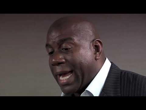 "Laker Legend, NBA MVP, Businessman : Earvin ""Magic"" Johnson Jr."