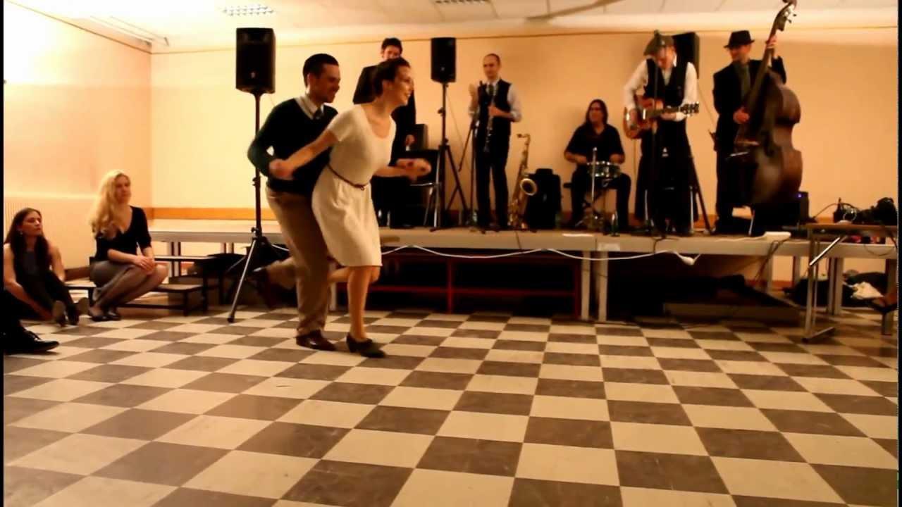 Paris Swingjammerz - Tatiana Udry & JB Mino social dancing demo