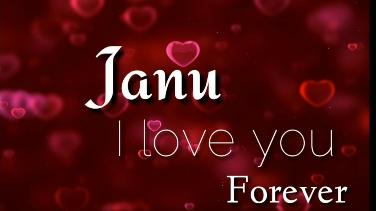 i love you janu images hd - just wire •