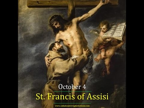 St.  Francis of Assisi (Oct. 4)
