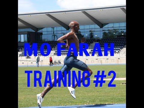 Mo Farah Training #2 || GO HARD OR GO HOME