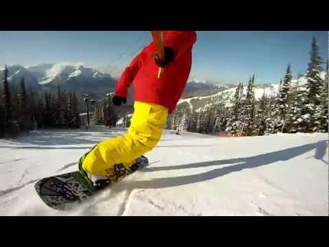 Generate Snowboarding Lake Louise - Gondola Lap Pics