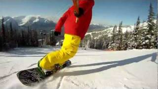 Snowboarding Lake Louise - Gondola Lap
