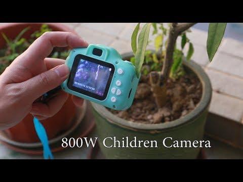 Children Camera Mini Digital Cartoon Cute USB Rechargeable Camcorder Video