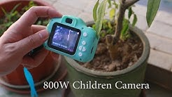 Children Camera Mini Digital Cartoon Cute USB Rechargeable Camcorder Video