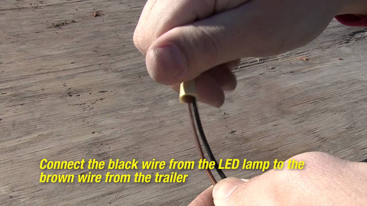 Blazer 6 Oval Stop Tail Turn Light Installation Youtube 4 Wire Trailer Wiring Diagram