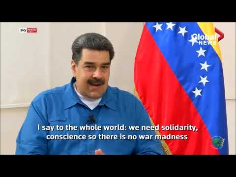 "Why Pope Refuses To Help Venezuela's President Nicolas Maduro. ""I Fear Bloodshed."" EYES ON THE TIMES"