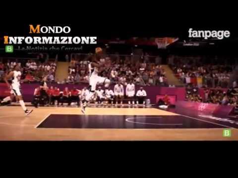 Olympics 2012 winning dunk James Harden
