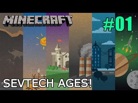 Minecraft - Magyar - Sevtech Ages! #01