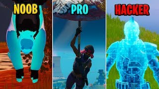 NOOB vs PRO vs HACKER - Fortnite Funny Moments #19