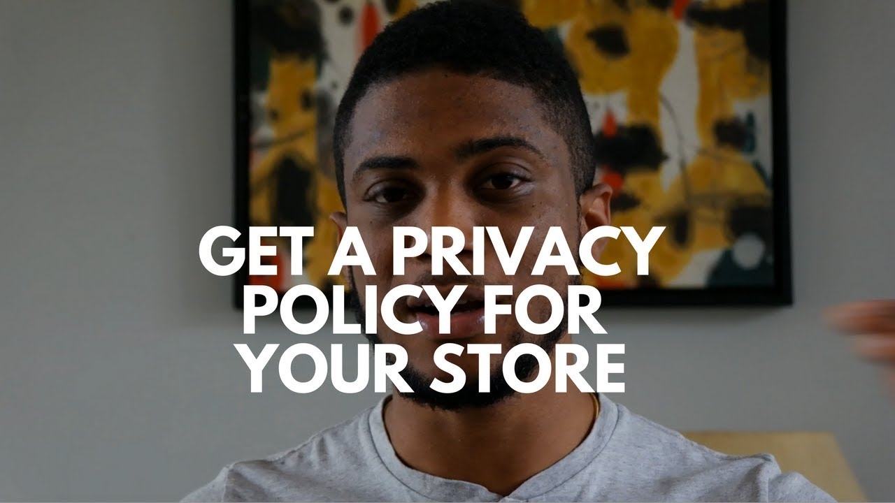 Shopify Privacy Policy The Easy Way To Get A Privacy Policy Tos