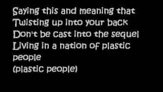 SHONTELLE- PLASTIC PEOPLE (with LYRICS)