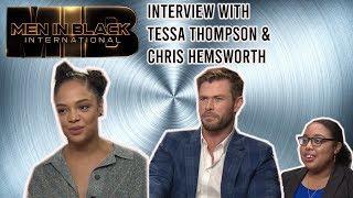Interview: Stars Tessa Thompson and Chris Hemsworth | Men In Black: International