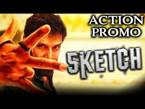 Download Sketch (2018) Official Hindi Dubbed Action Promo | Vikram, Tamannaah Bhatia, Soori