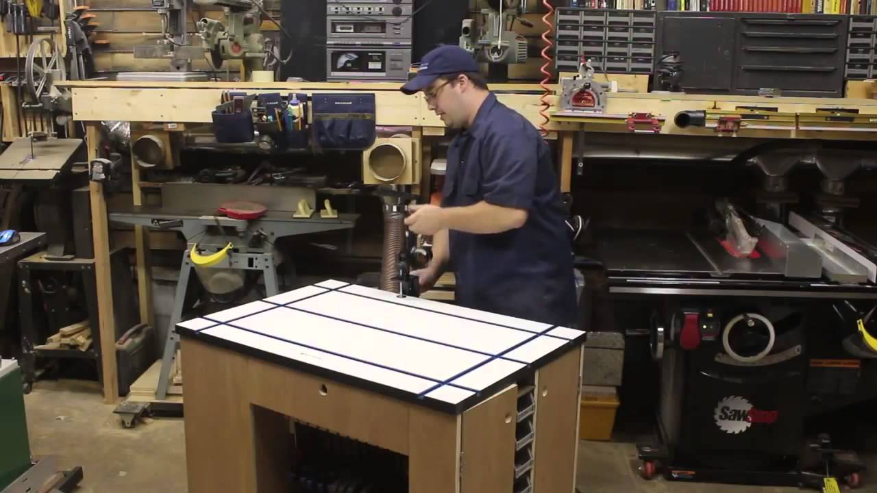 Ultimate Shop Cart w/Rockler T-Track Table | Stumpy Nubs ...