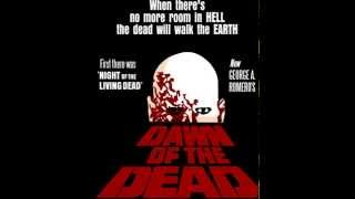 Main theme music for the original dawn of dead. starts own when fran wakes up and is heard later in mall as well. fun fact trivia: this tune can be h...