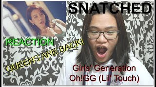 (REACTION) Girls' Generation 소녀시대 - Oh!GG - Lil' Touch #SNSD   Faith IS SHOOK!   QUEENS ARE BACK!