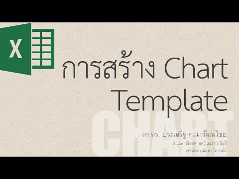 สอน Excel: การสร้างและใช้งาน Chart Template