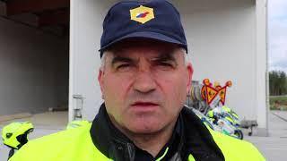 Poziv motoristom, pomočnik komandirja PPP Maribor Anton Vinko