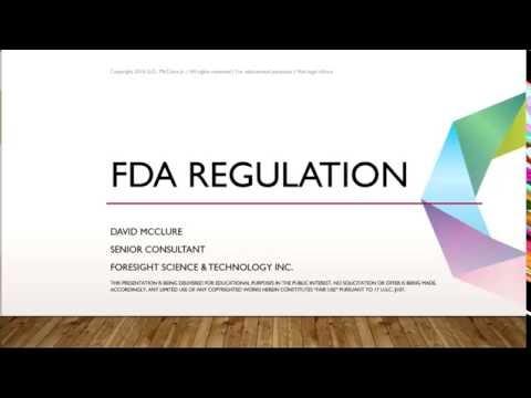 FDA Regulations Webinar