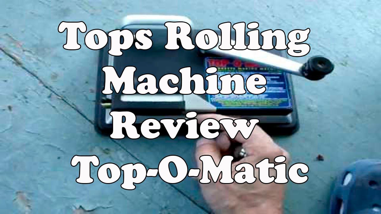 tops rolling machine