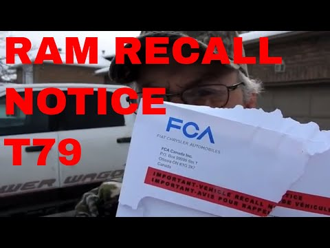 Ram truck Recall: Is your RAM truck included T79