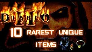 10 Rarest Unique Items in Diablo 2