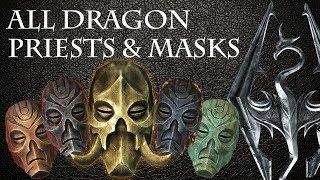 Skyrim - All Dragon Priests & Masks (base game)