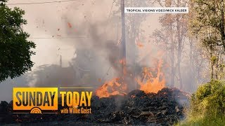 6.9-Magnitude Earthquake Rattles Hawaii As Volcano Spews Lava   TODAY