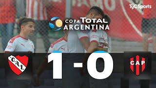 Copa Argentina: Independiente 1-0 Patronato