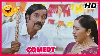 Kovai Sarala And Manobala Comedy Scene | Super Hit Tamil Movie Comedy | HD Quality | New Upload 2017