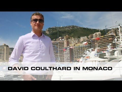 TW Steel - David Coulthard in Monaco