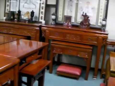 唐爺傢俱 - 佛桌神桌展示(有佛桌維修服務)