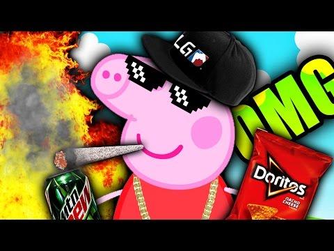 Peppa Pig Holiday Свинка Пеппа Каникулы новая детская игра-мультик на iPad и Android