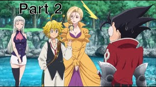 Meliodas and Zeldris Brotherly moments part 2 | The Seven Deadly Sins Movie: Cursed by Light