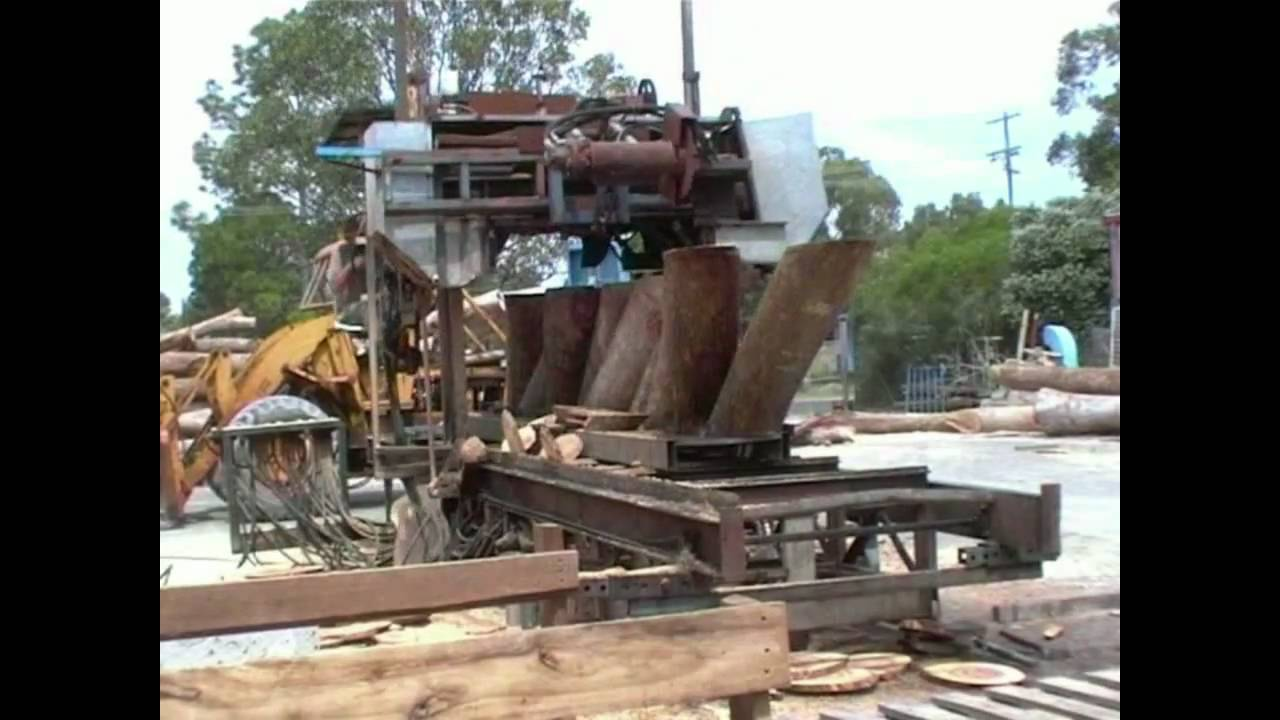 Saw Mill For Sale >> Bandsaw Mill - For Sale - mobile diesel hydraulic sawmill