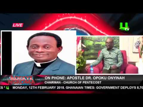 Abeiku Santana, Counselor Lutterodt and Eugene Osafo speak on Ebony's death and prophesies