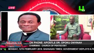 Abeiku Santana, Counselor Lutterodt and Eugene Osafo speak on Ebony's death and prophesies