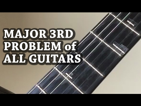 The Major 3rd Problem of All Guitars in the World