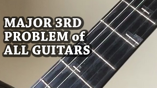 Major 3rd Problem of All Guitars in the World